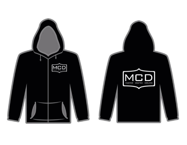 Zip-Up Hoodies for Master Crafted Drums