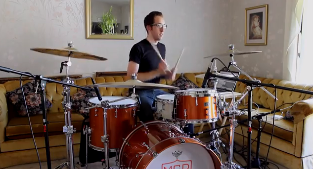 Nick Costa Isolated Drums for Vic Firth Shed Session with Gerald Heyward