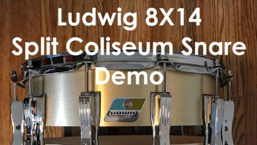 Ludwig split coliseum snare