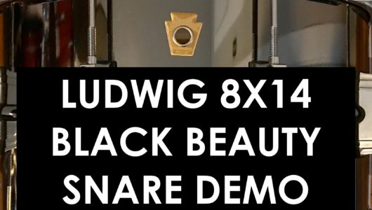 nick costa music nick costa drums ludwig black beauty snare drum demo