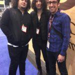 Ilan Rubin Aaron Rubin Nick Costa drums
