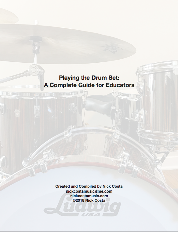 Playing The Drumset: A Complete Guide for Educators