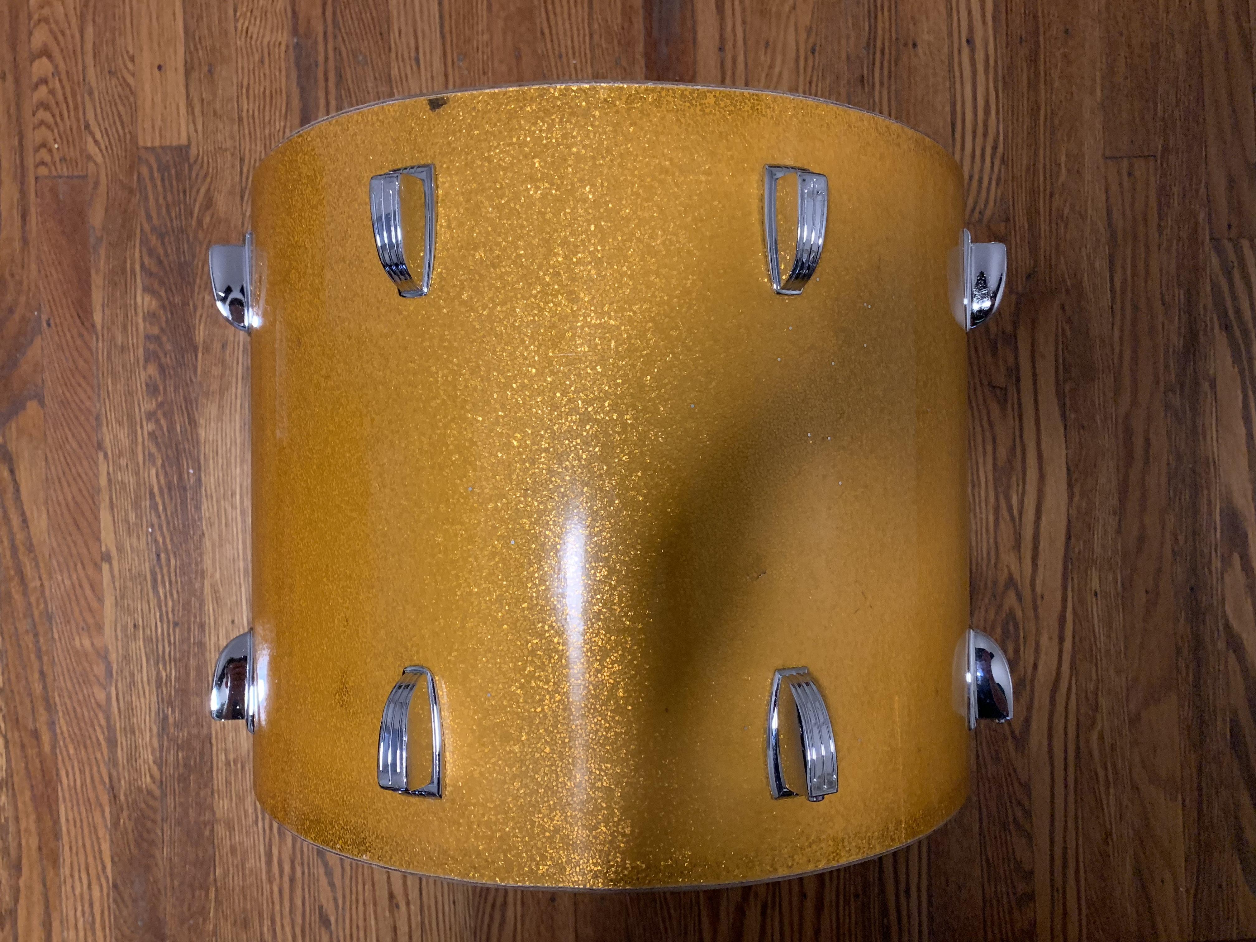 Vintage 69 Ludwig 12X15 Tom Tenor Drum Restored by Nick Costa
