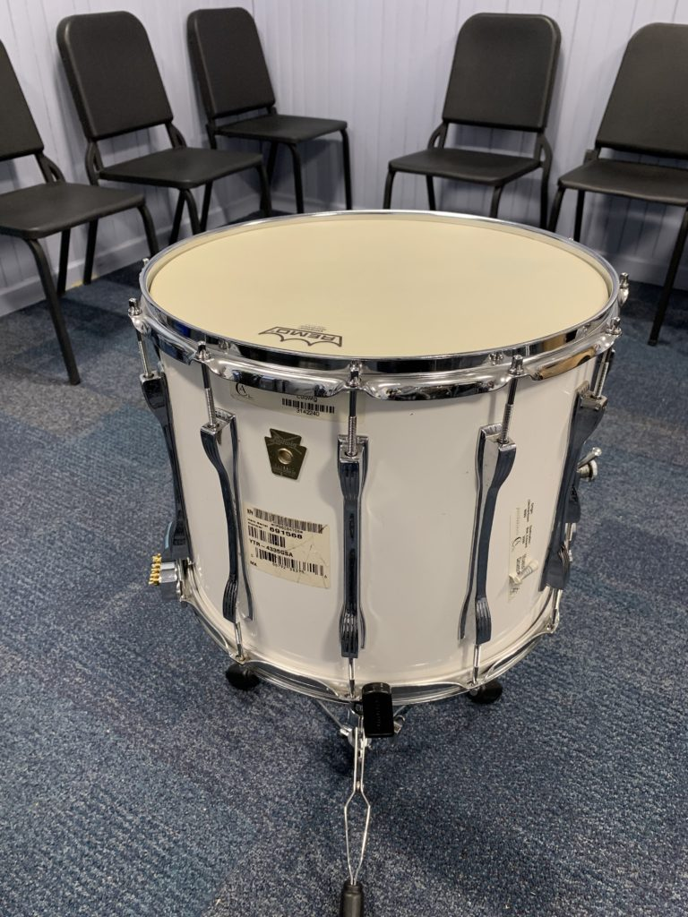 "Vintage Ludwig 15"" Marching Snare restored by Nick Costa for Franklin Learning Center (Philadelphia, PA)"