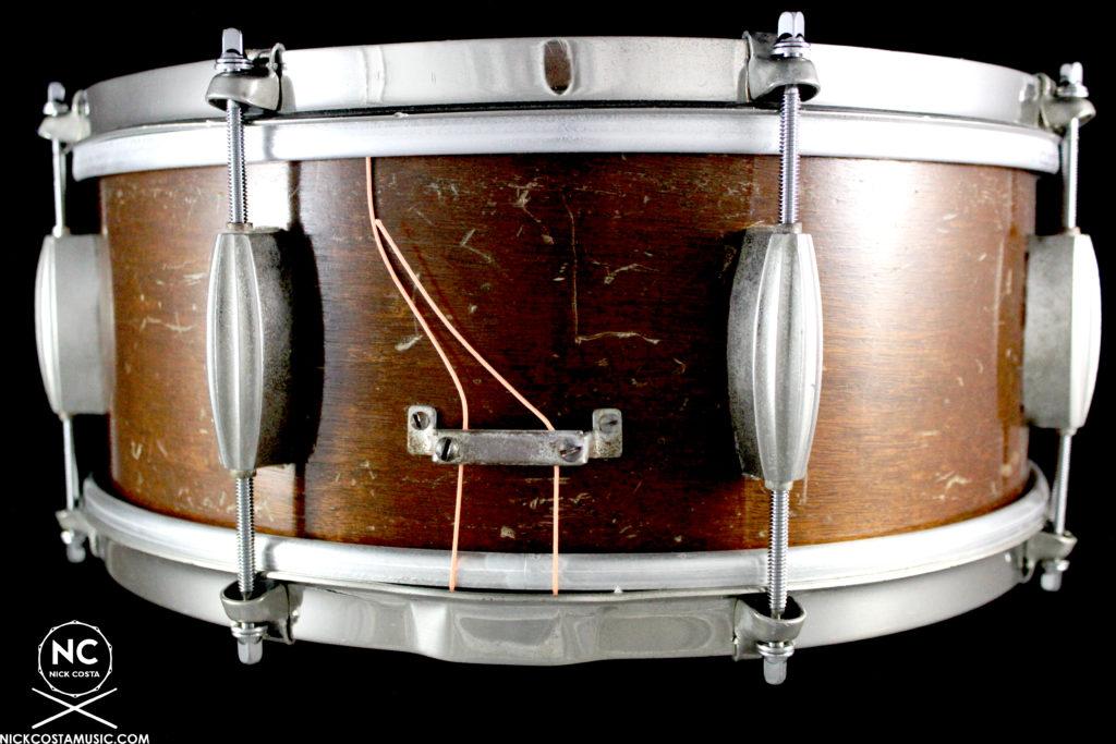 1950-53 Slingerland Radio King Student Model Snare : 6 X 14
